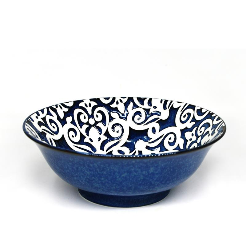 "BIA Reactive Serving Bowl 8"" - Damask"