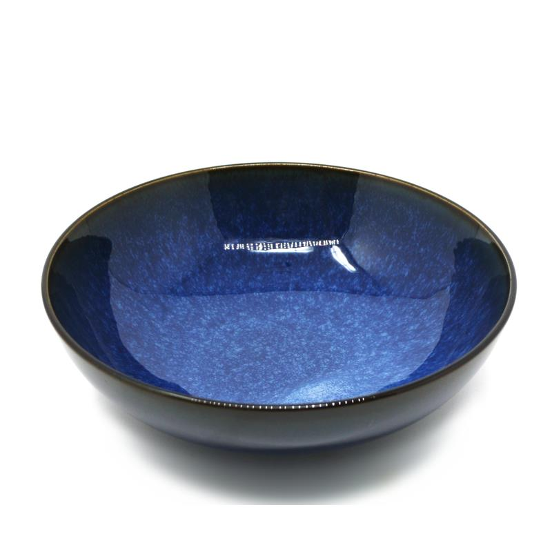BIA Reactive Navy Serving Bowl