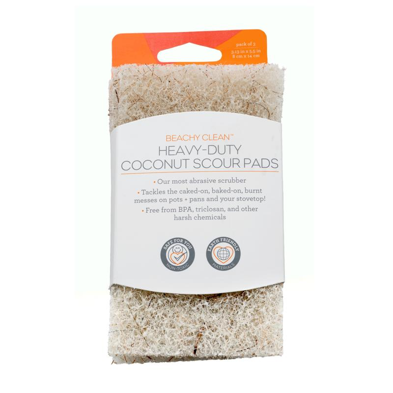 Full Circle Beachy Clean Heavy Duty Coconut Scour Pads