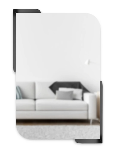 Umbra Alcove Mirror With Shelves