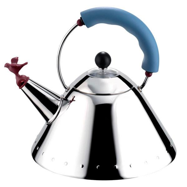Alessi 9093 Kettle - Bird Whistle