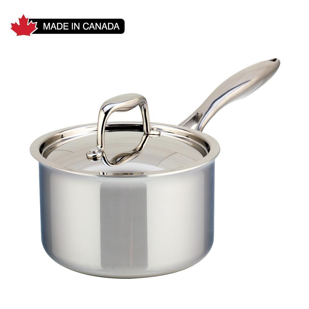 Meyer SuperSteel Tri-Ply Clad Saucepan