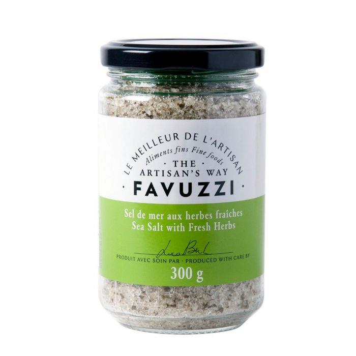 Favuzzi Premium Sea Salt With Fresh Herbs