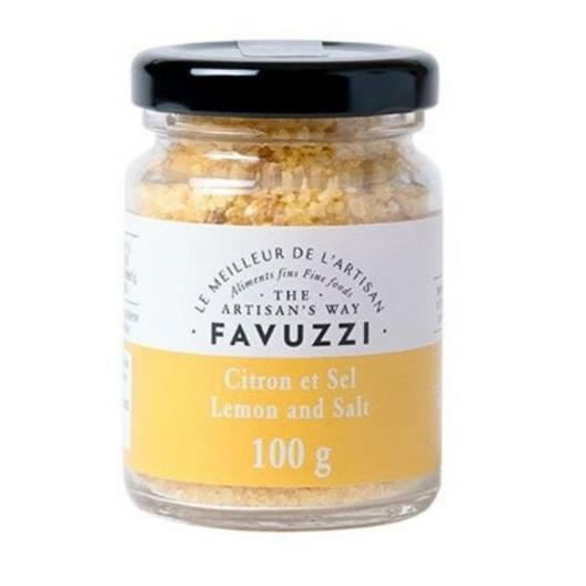 Favuzzi Premium Sea Salt With Lemon