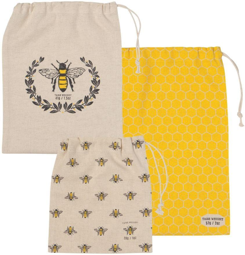Now Designs Busy Bee Produce Bag Set of 3