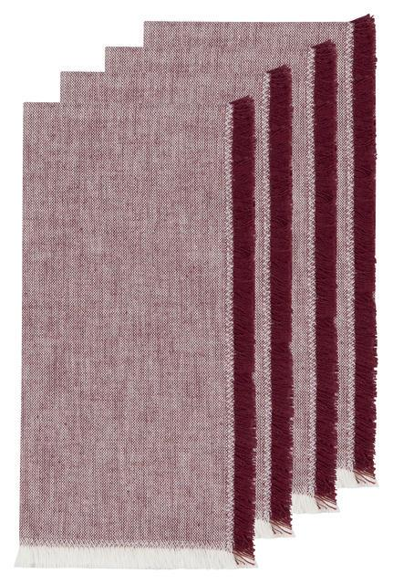 Danica Heirloom Napkins Set of 4 - Wine