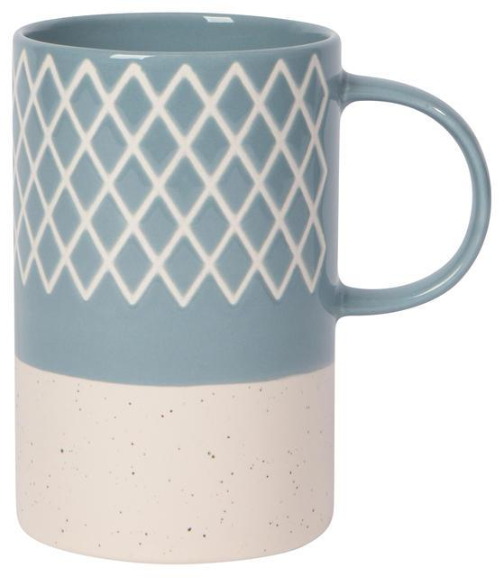 Now Designs Etch Mug - Slate Blue