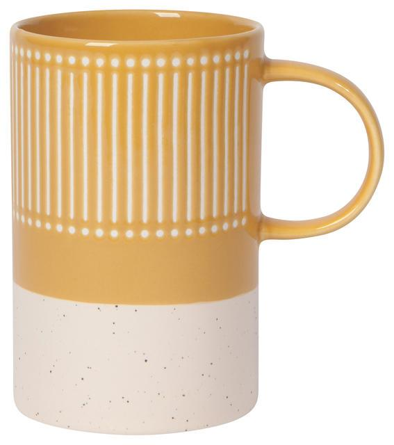 Now Designs Etch Mug - Ochre