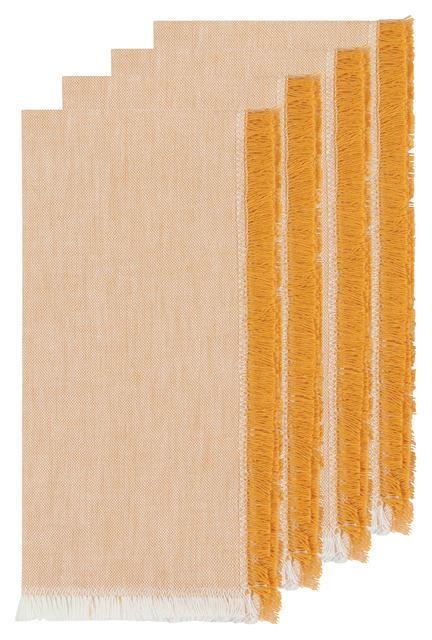 Danica Heirloom Napkins Set of 4 - Ochre