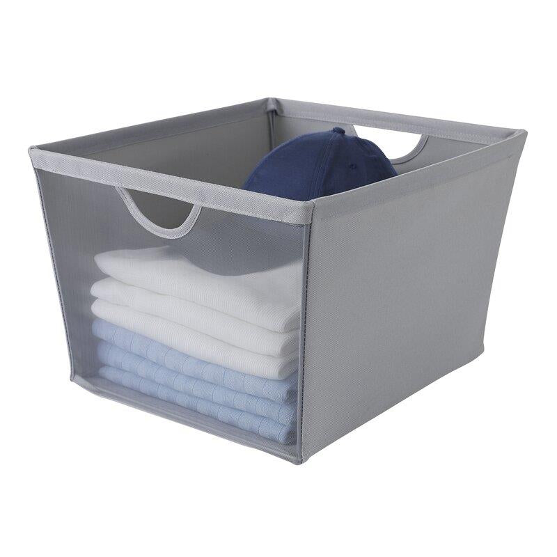 Neatfreak Large Storage Bin With Mesh Front