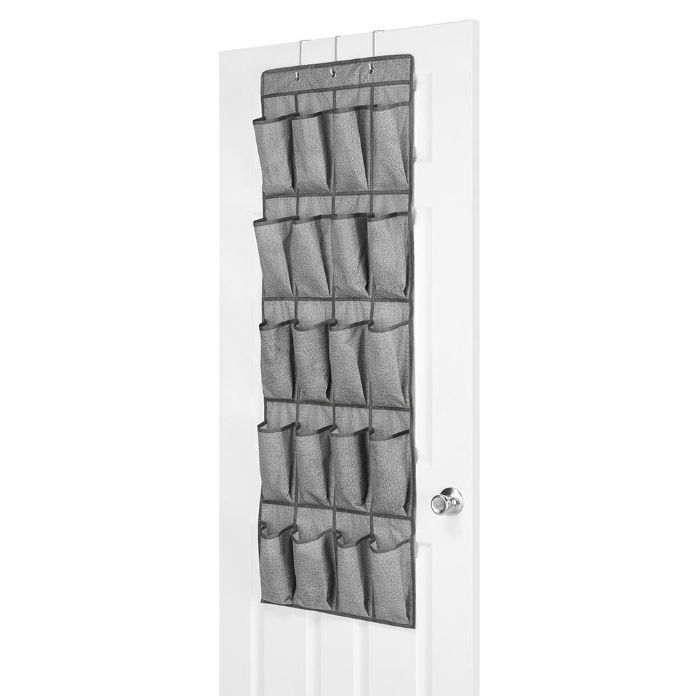 Whitmor CrossHatch 20-Section Over The Door Shoe Organizer