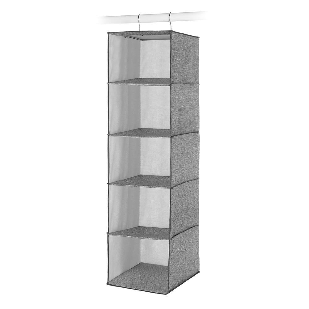 Whitmor CrossHatch 5-Section Hanging Closet Organizer