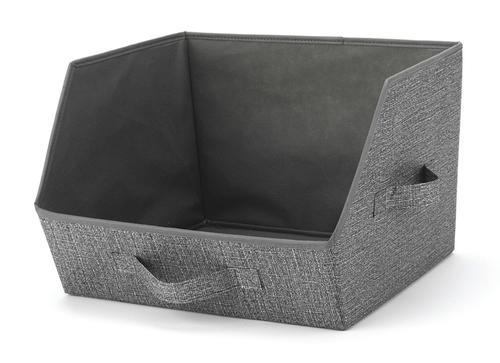 Whitmor CrossHatch Tipping Storage Bin Organizer
