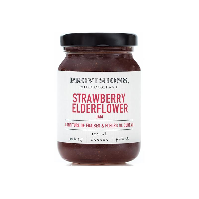 Provisions Food Company Jam - Strawberry & Elderflower