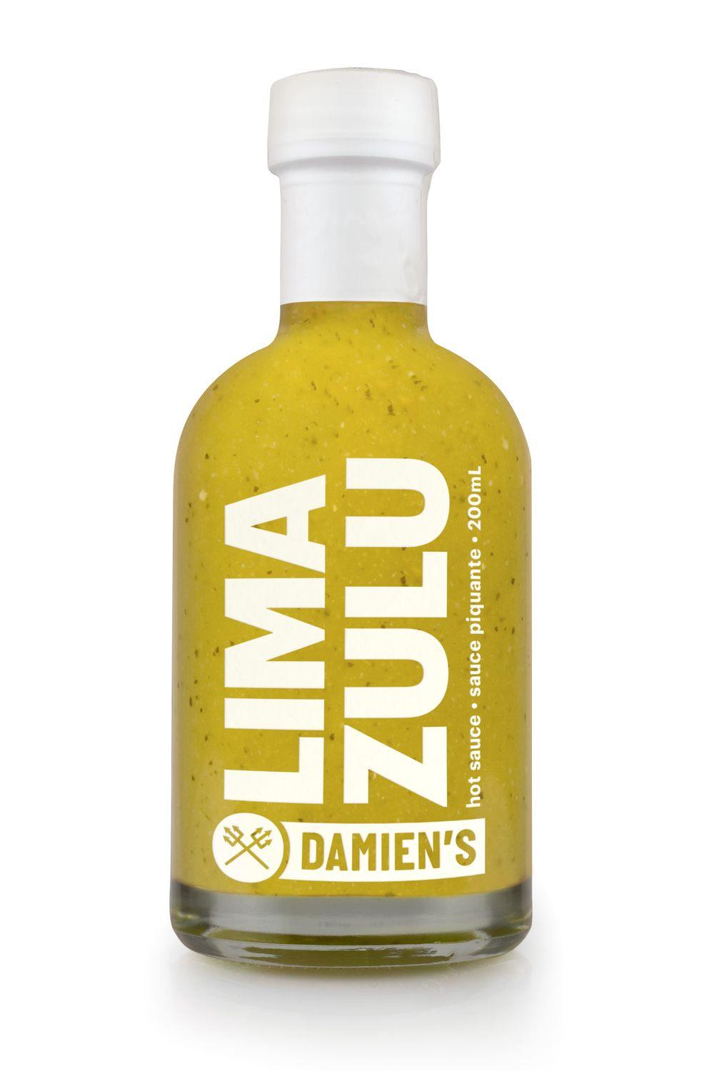 Damien's Fresh Lime Hot Sauce