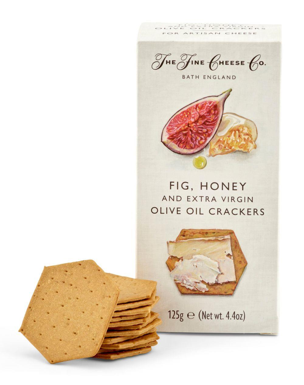 Fine Cheese Co Fig, Honey & Olive Oil Crackers