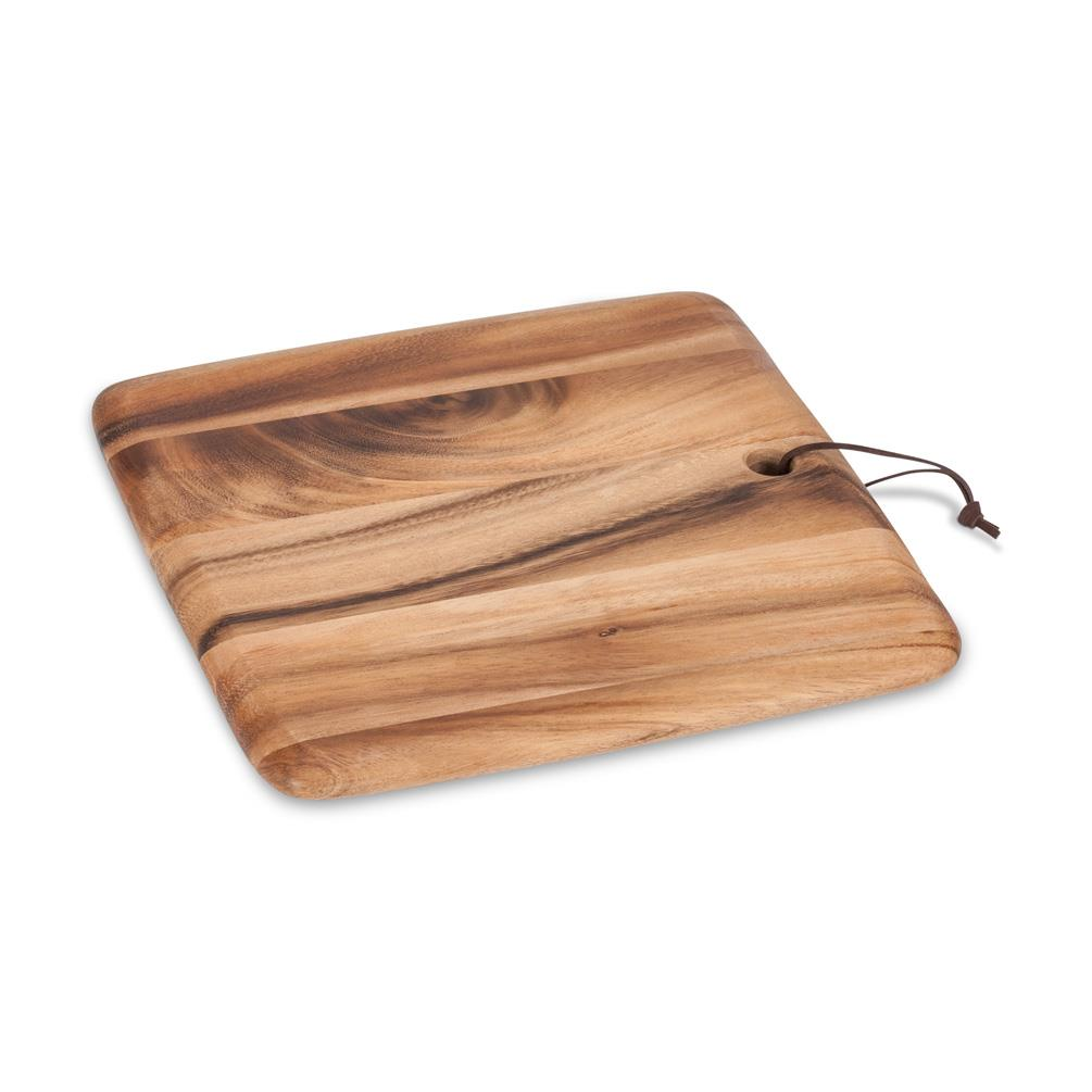 Abbott Square Serving Board With Strap