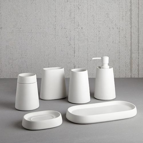 Moda At Home Crater Tumbler - White