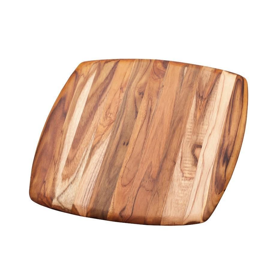 Teak Haus Elegant Square Serving Board