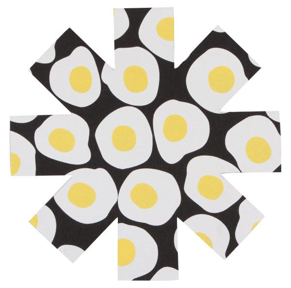 Now Designs Pan Protector Breakfast Eggs Set of 3