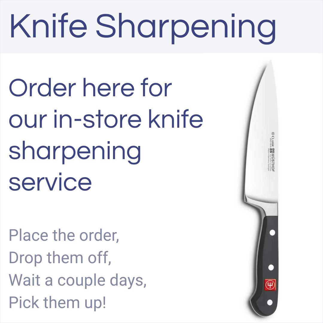 Knife Sharpening - In Store Service