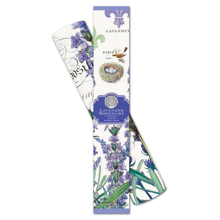 Michel Design Works Scented Drawer Liners Lavender & Rosemary