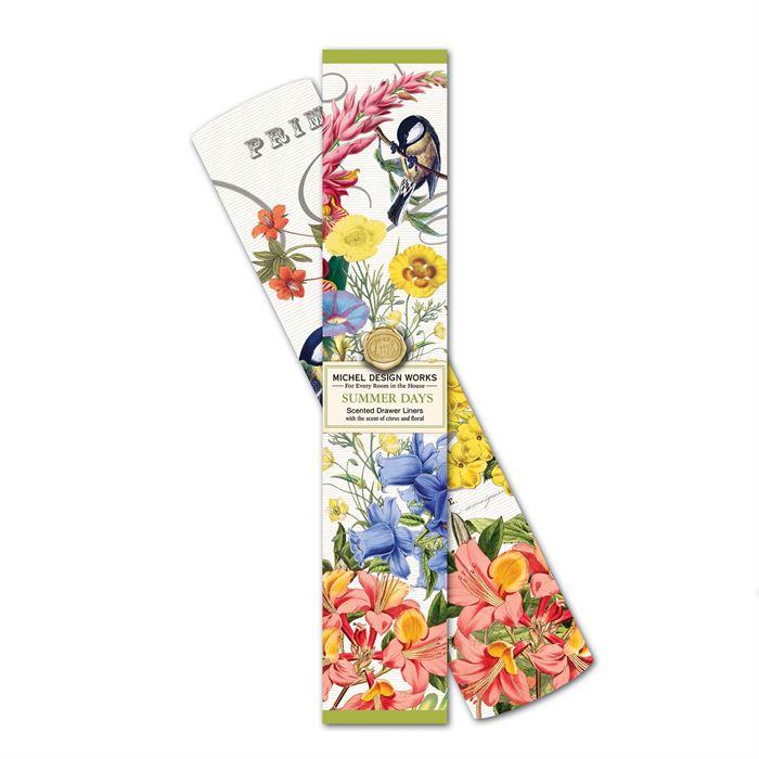 Michel Design Works Scented Drawer Liners Summer Days