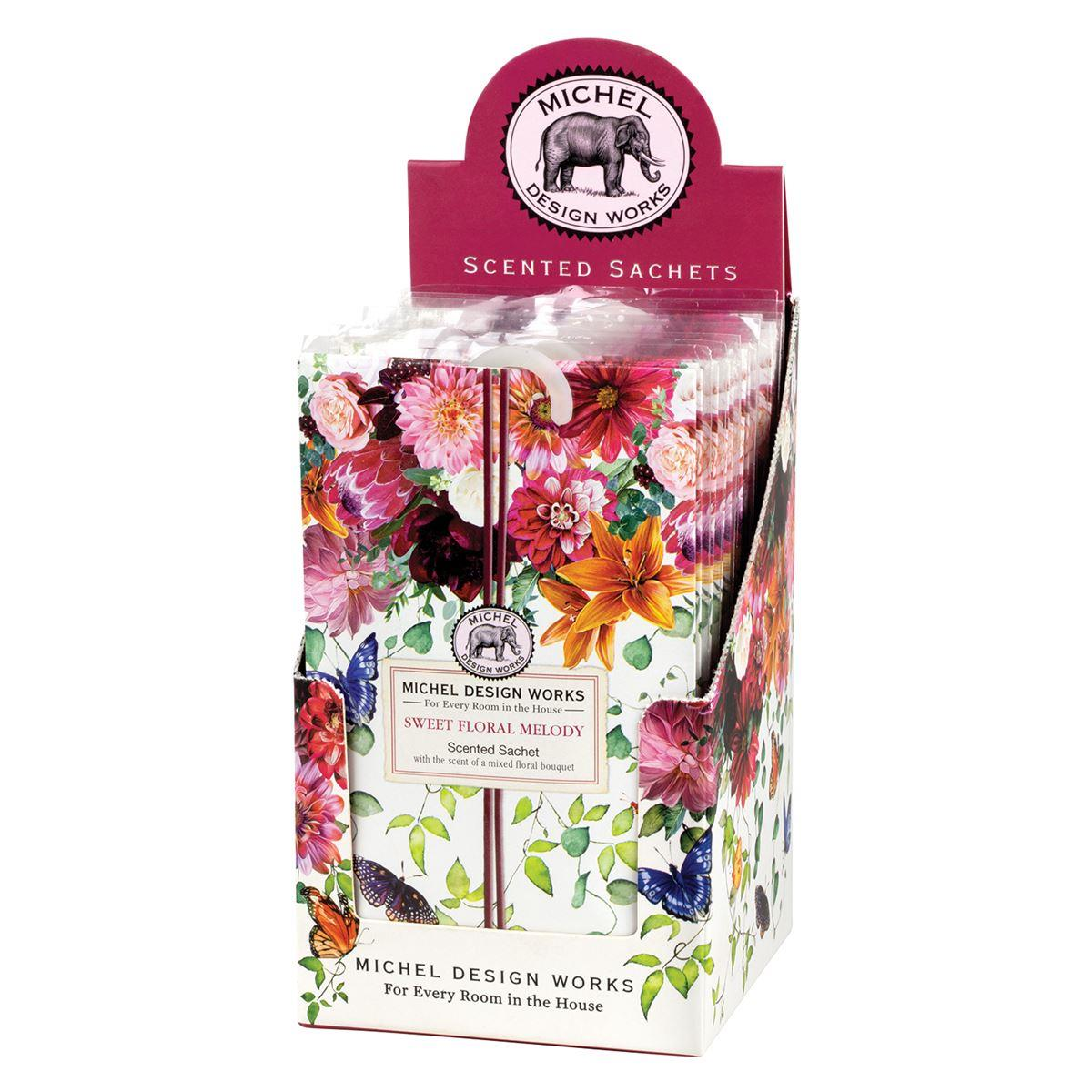 Michel Design Works Scented Sachet Sweet Floral Melody