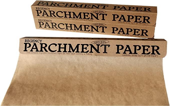 Regency Natural Non-Stick Parchment Paper - 6m / 20ft