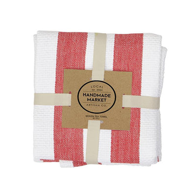 Harman Industrial Stripe Basketweave Tea Towels Set of 2