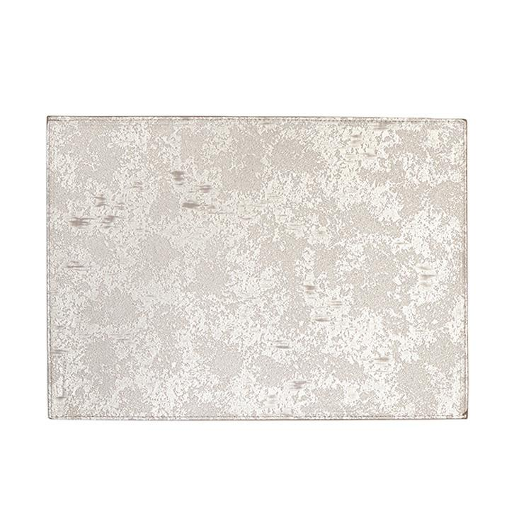 Harman Champagne Marble Reversible Table Luxe Vinyl Placemat