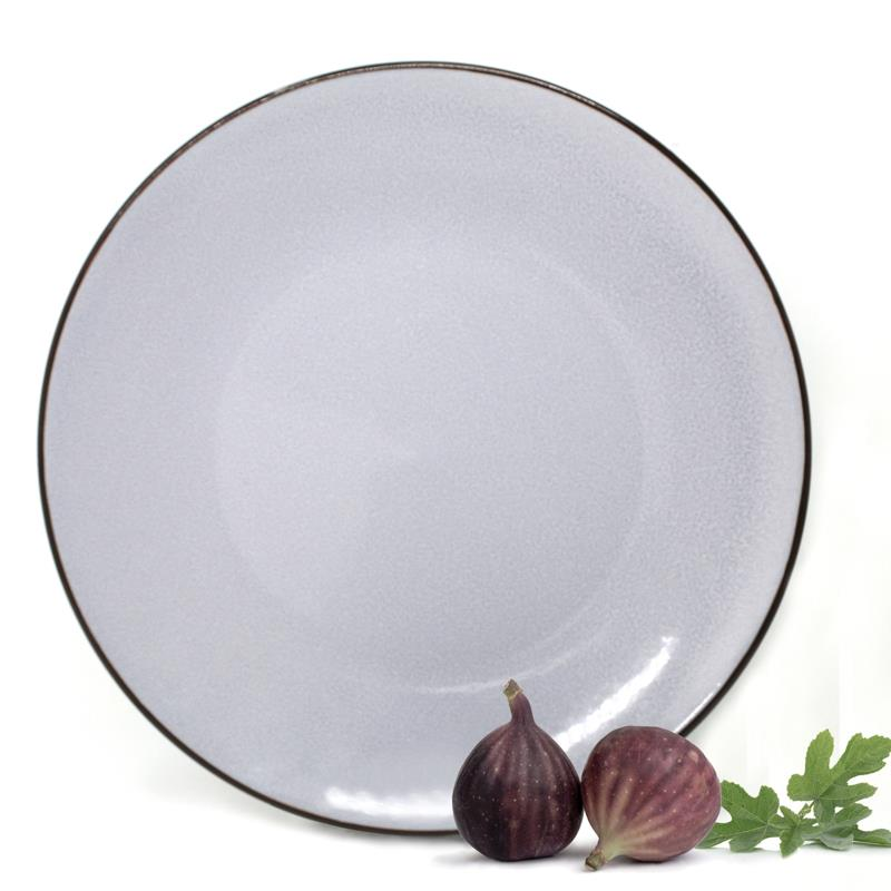 BIA Reactive Grey Dinner Plate