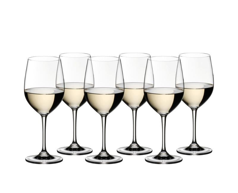 Riedel 265 White Wine Vinum Chardonnay Glasses Set of 6