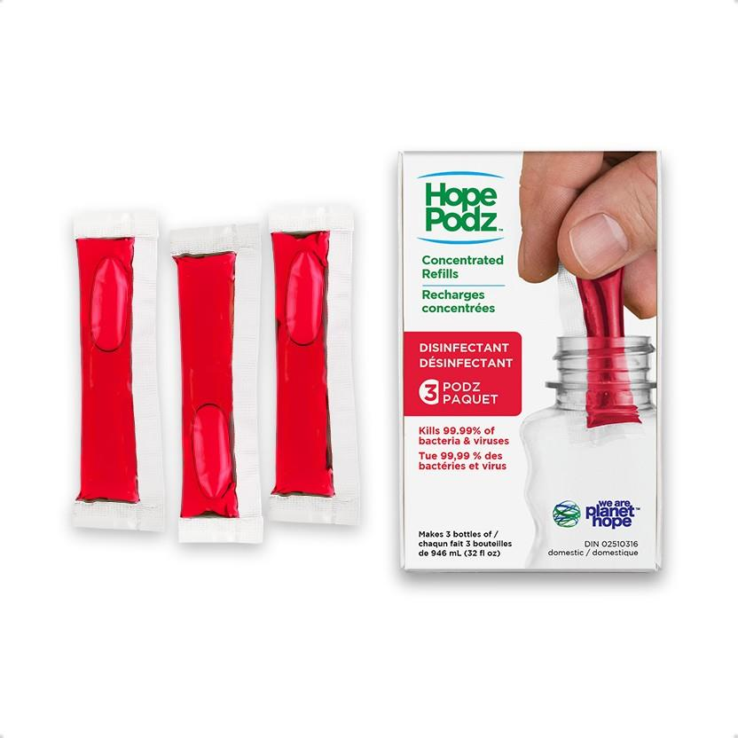 HopePodz Disinfectant Kit Pack of 3
