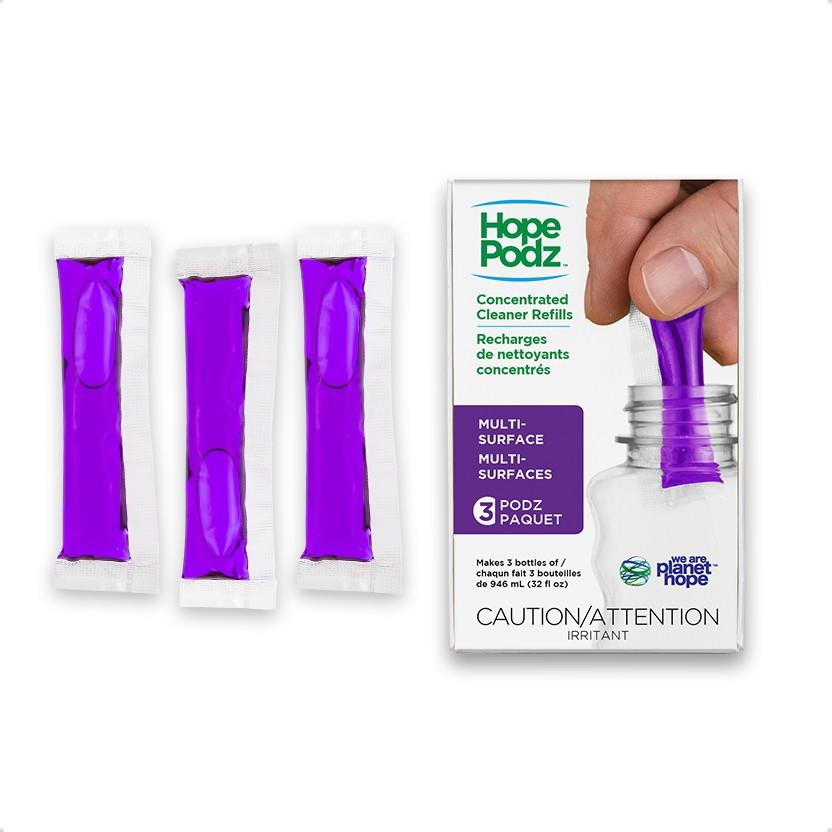 HopePodz Multi-Surface Cleaner Pack of 3