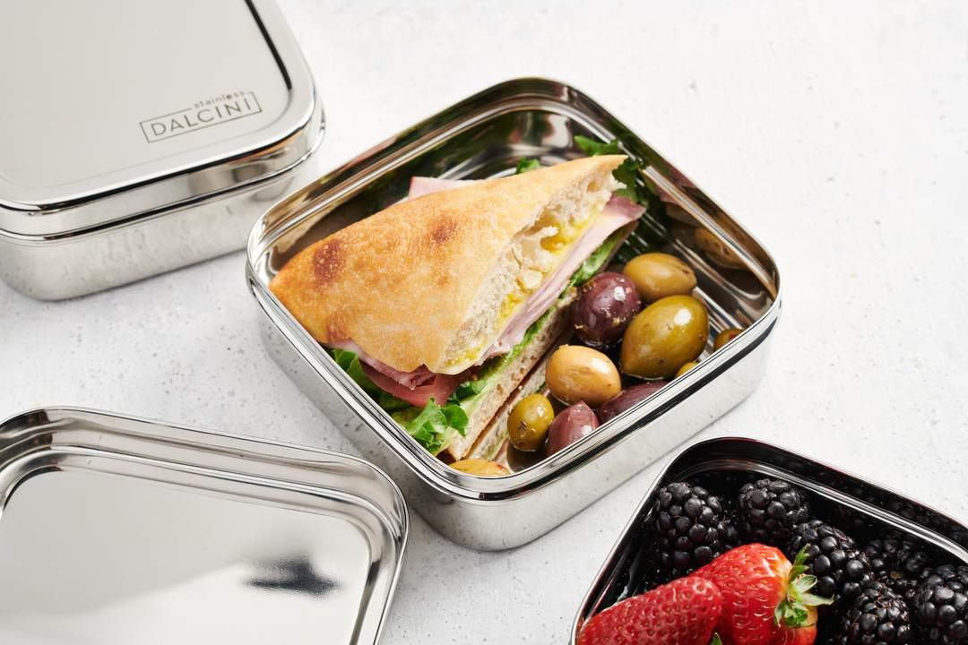 Dalcini Stainless Lunch Sandwich Square