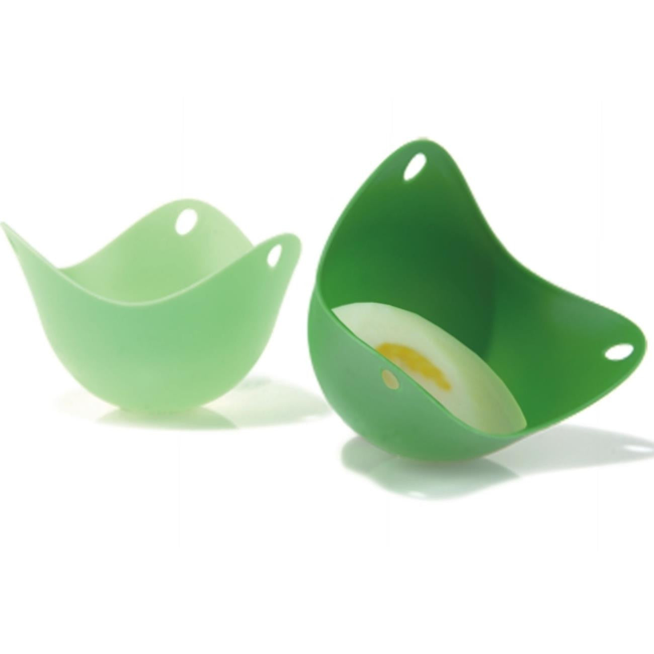 Fusionbrands Poach Pod Set of 2, Green