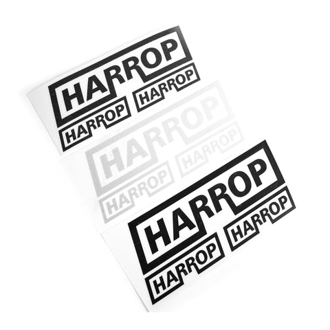 HARROP Vinyl Stickers