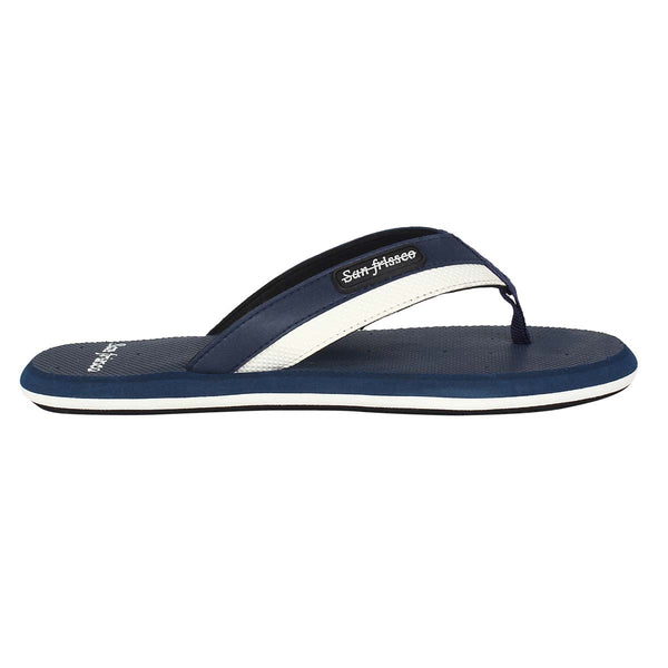 San Frissco Men's P BLUE Slippers Flip Flop