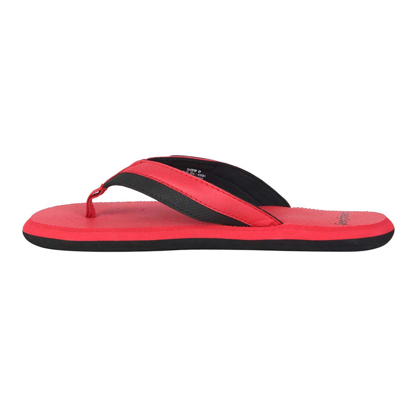 San Frissco Men's RED Slippers Flip Flop