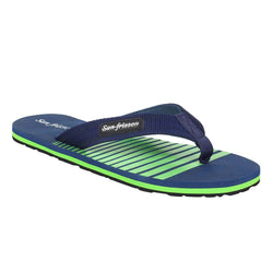 San Frissco Men's Blue Slippers Flip Flop