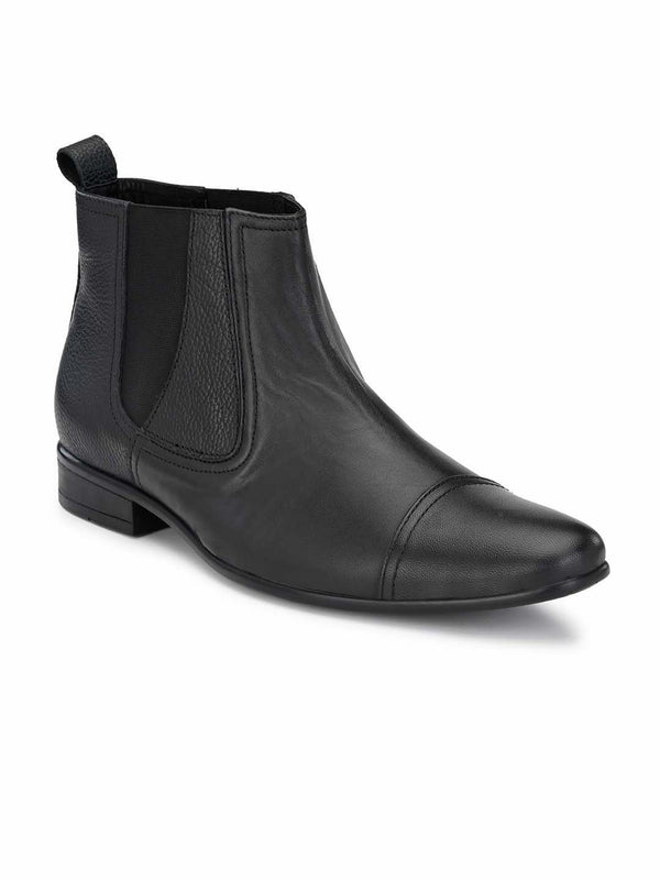 SF Black Ankle Boots