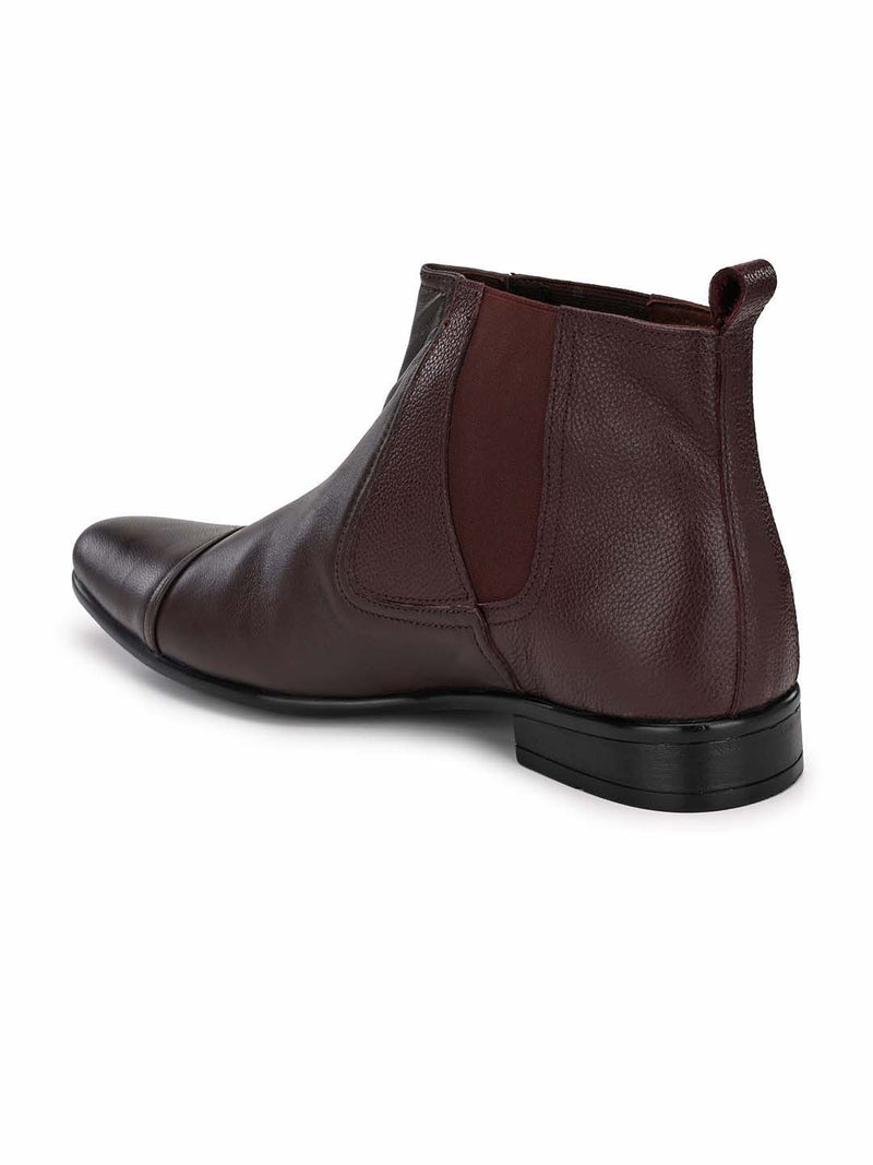 Cherry formal boot