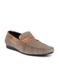 San Frissco Olive Casual Loafer Shoe For Man's