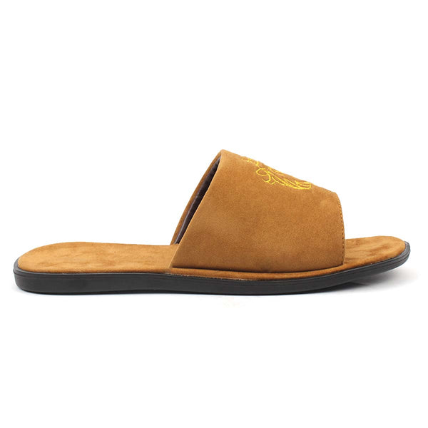 Tan Slipper