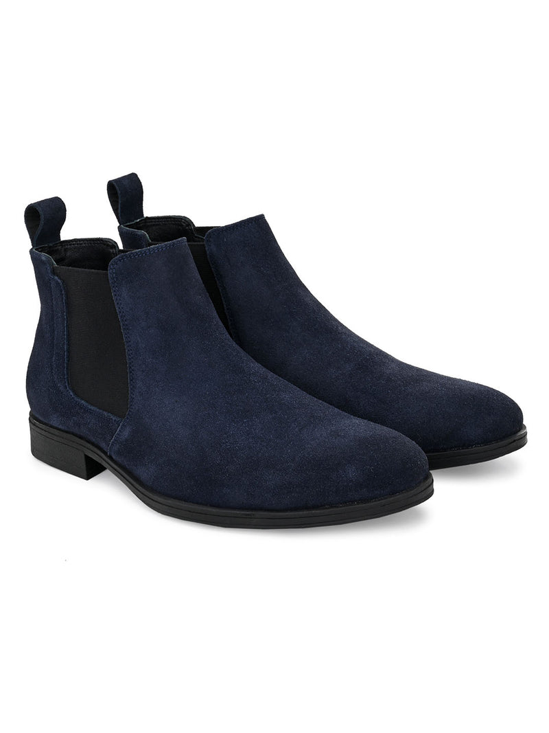 Robust Blue Boots