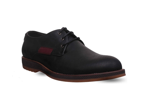 Black Formal Derby Shoes