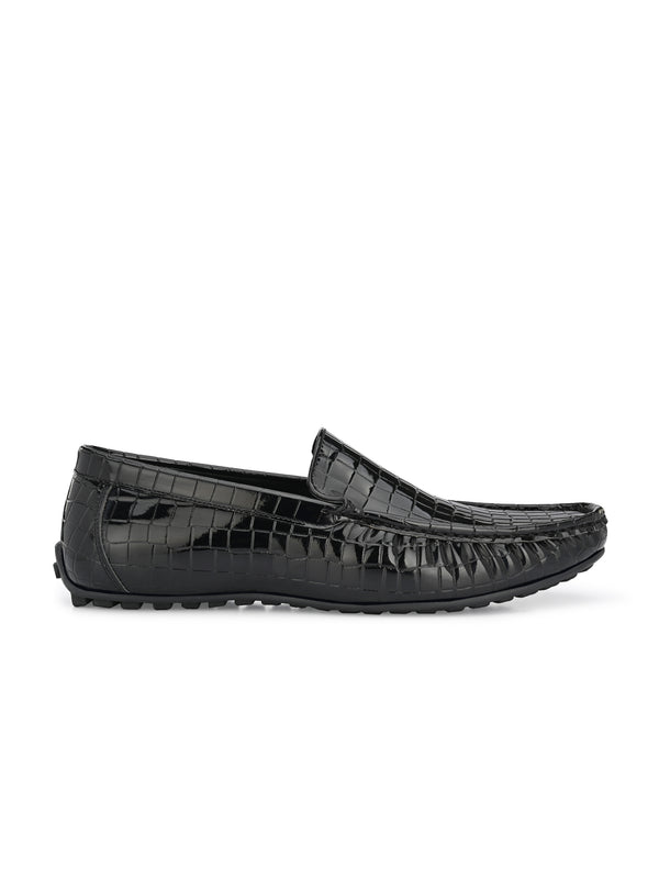 Bizzare Black Patent Loafers