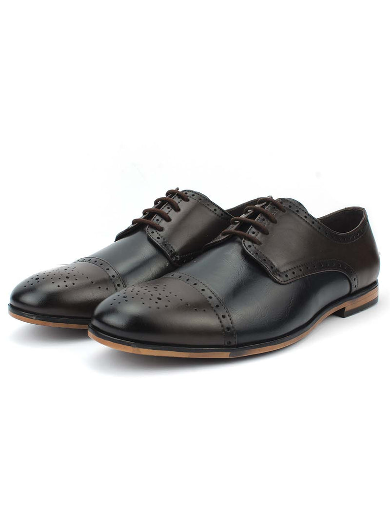 Brown Semi-Formal Brogues