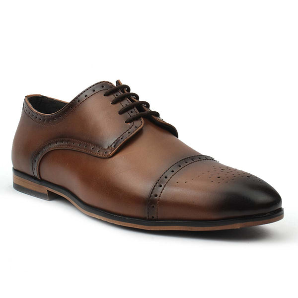 Tan Semi-Formal Brogues